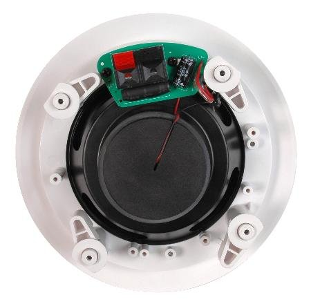5-14inch-Two-Way-Ceiling-Speaker-Pair-25w-Rms-Polypropylene-Cone-Woofer-Rubber-Surround-0-1