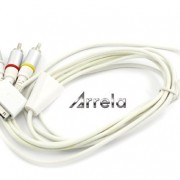Arrela-White-Composite-AV-Video-to-TV-RCA-Cable-USB-Charger-For-iPad-iPod-Touch-iPhone-0-0