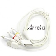Arrela-White-Composite-AV-Video-to-TV-RCA-Cable-USB-Charger-For-iPad-iPod-Touch-iPhone-0