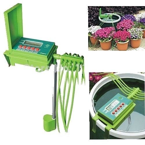 Automatic Watering Irrigation System Plant Hose Water Lawn ...