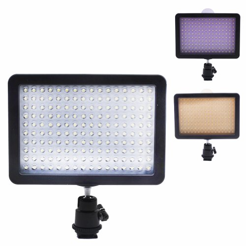 Bestlight-Ultra-High-Power-160-LED-Video-Light-Panel-with-Shoe-Adapter-for-Canon-Nikon-Olympus-Pentax-DSLR-and-Camcorders-0-5