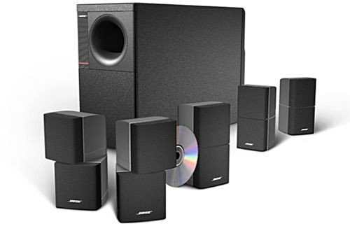 bose 6 piece home theater speaker system black am10iiblk. Black Bedroom Furniture Sets. Home Design Ideas