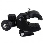 Camera-Clamp-Roll-Bar-Seat-Post-TILT-Mount-4-Flip-hd-Kodac-Drift-Gopro-Contour-0