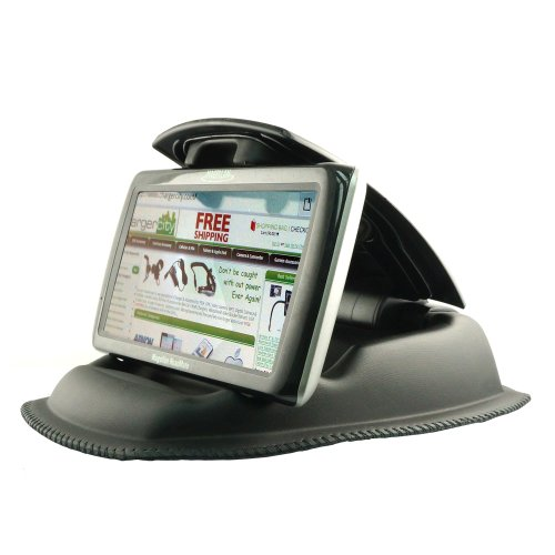 ChargerCity-Hippo-Series-Universal-Smartphone-GPS-NonSlip-Dashboard-Beanbag-Friction-Mount-for-Garmin-Nuvi-TomTom-Via-GO-Start-Live-XXL-XL-Magellan-Roadmate-GPS-Fit-all-35-43-5-6-GPS-Includes-ChargerC-0-2