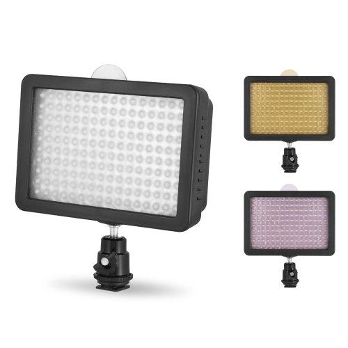 Chromo-Inc-160-LED-CI-160-Dimmable-Ultra-High-Power-Panel-Digital-Camera-Camcorder-Video-Light-LED-Light-for-Canon-Nikon-Pentax-PanasonicSONY-Samsung-and-Olympus-Digital-SLR-Cameras-0-0