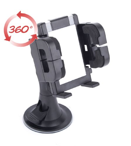 DURAGADGET-Firm-Anti-Shake-In-Car-Windscreen-Dashboard-Phone-Mount-For-Takara-GP67-GPS-0-5
