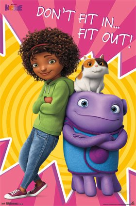 Dreamworks Animated Movie Poster 22 5 X 34