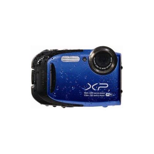 FUJIFILM-16409284-FinePix-XP70-164-Megapixel-Compact-Camera-Blue-27-LCD-5x-Optical-Zoom-Optical-IS-4608-x-3456-Image-1920-x-1080-Video-HDMI-0