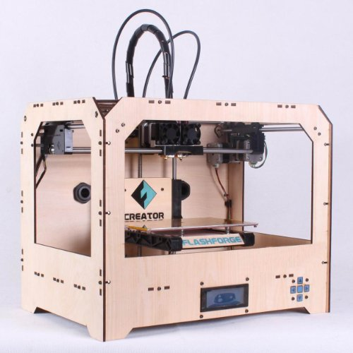 FlashForge 3d Printer, Dual Extruder, Both ABS and PLA