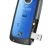 GE-DVX-WaterproofShockproof-1080P-Pocket-Video-Camera-Aqua-Blue-with-2GB-SD-Card-0-0