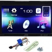 JVC-KW-V11-Double-Din-Car-DVDiPhonePandora-Radio-Player-Receiver-62-Monitor-0