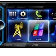 JVC-KW-V30BT-Double-Din-In-Dash-Car-DVD-Monitor-Receiver-with-a-61-Touch-ScreenBuilt-In-Bluetooth-HDMI-Input-PandoraiHeartRadio-Controls-and-iPhoneAndroid-Integration-0-0