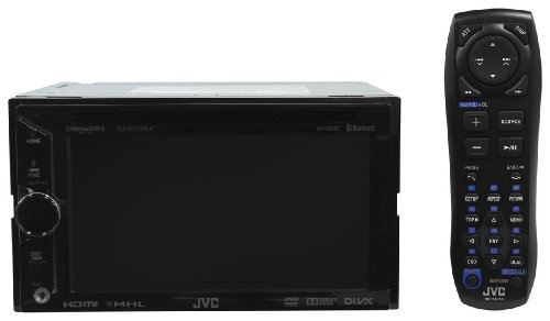 JVC-KW-V30BT-Double-Din-In-Dash-Car-DVD-Monitor-Receiver-with-a-61-Touch-ScreenBuilt-In-Bluetooth-HDMI-Input-PandoraiHeartRadio-Controls-and-iPhoneAndroid-Integration-0-4
