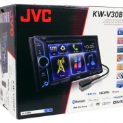 JVC-KW-V30BT-Double-Din-In-Dash-Car-DVD-Monitor-Receiver-with-a-61-Touch-ScreenBuilt-In-Bluetooth-HDMI-Input-PandoraiHeartRadio-Controls-and-iPhoneAndroid-Integration-0-6