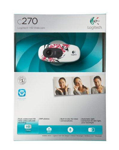 Logitech-C270-720p-Widescreen-Video-Call-and-Recording-HD-Webcam-960-000819-Floral-Spiral-0-1