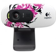 Logitech-C270-720p-Widescreen-Video-Call-and-Recording-HD-Webcam-960-000819-Floral-Spiral-0
