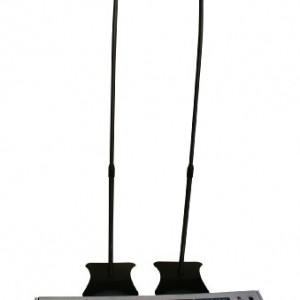 Lumi Universal Satellite Surround Sound Home Theater Speaker Stands