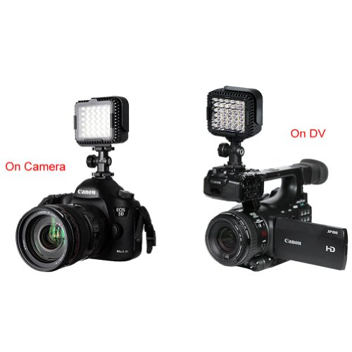 Neewer-CN-LUX360-5600K-Ultra-Bright-36-Dimmable-LED-Camera-Video-Light-with-Optical-Filter-for-DV-Camcorder-Canon-Nikon-Olympus-Pentax-and-Other-DSLR-Cameras-0-5