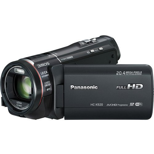 Panasonic-HC-X920-3MOS-Ultrafine-Full-HD-Wi-Fi-Video-Camera-Camcorder-Black-with-64GB-Card-Battery-Case-LED-Video-Light-Microphone-3-UVFLDCPL-Filters-Tripod-Telephoto-Wide-Angle-Lenses-Accessory-Kit-0-0