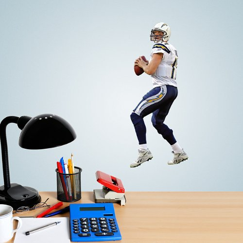 Philip Rivers Mini Fathead San Diego Chargers Official Nfl