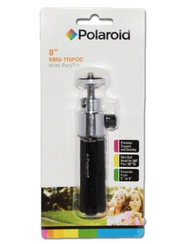 Polaroid-8-Heavy-Duty-Mini-Tripod-With-Pan-Head-With-Tilt-For-Digital-Cameras-Camcorders-0-0