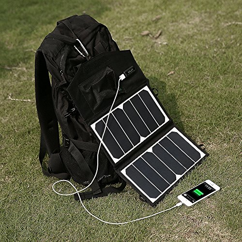 iphone 6 solar charger poweradd high efficiency 14w solar charger portable 15086