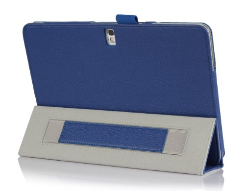 ProCase-Samsung-Galaxy-Tab-PRO-101-Tablet-Case-with-bonus-stylus-pen-Tri-Fold-Smart-Cover-Stand-Case-for-Galaxy-TabPRO-101-inch-SM-T520T525-Navy-Dark-Blue-0-3