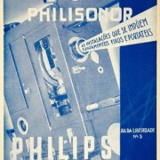 1935-Ad-Vintage-Philips-Philisonor-Movie-Theatre-Projector-Portuguese-Language-Original-Print-Ad-0