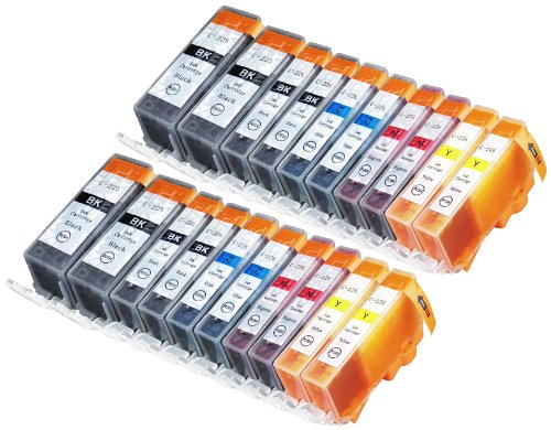 20-Pack-Compatible-Canon-CLI-226-PGI-225-4-Small-Black-4-Cyan-4-Magenta-4-Yellow-4-Big-Black-for-use-with-Canon-PIXMA-iP4820-PIXMA-iP4920-PIXMA-iX6520-PIXMA-MG5120-PIXMA-MG5220-PIXMA-MG5320-PIXMA-MG61-0