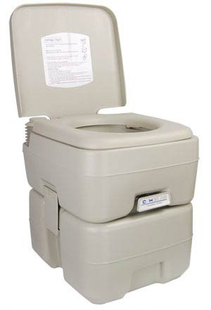 5-GAL-Portable-Camp-Toilet-Camping-Flush-Potty-0
