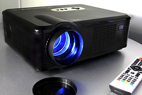 720p led lcd video projector lcd led fugetek fg 857 for Apple video projector