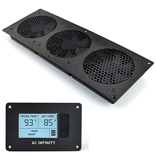 AC Infinity AIRPLATE T9, Quiet Cooling Fan System with Thermostat ...
