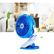 BTOOP-Desk-Fans-USB-Fans-with-Stepless-Speed-Technology-360-Degree-Ultra-quietness-with-A-BTOOP-Microfiber-Cleaning-Cloth-Blue-5-0-1