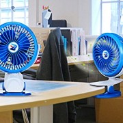 BTOOP-Desk-Fans-USB-Fans-with-Stepless-Speed-Technology-360-Degree-Ultra-quietness-with-A-BTOOP-Microfiber-Cleaning-Cloth-Blue-5-0-2