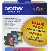 Brother-LC61CL-3-Pack-Ink-Cartridge-500-Page-Yield-Cyan-Magenta-Yellow-0