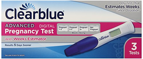 Clearblue Advanced Pregnancy Test With Weeks Estimator 3