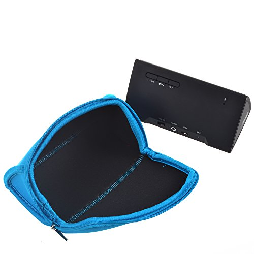 Cosmos-Travel-Carry-Neoprene-Sleeve-Case-Bag-Cover-for-OontZ-Angle-Ultra-Portable-Wireless-Bluetooth-SpeakerNOT-for-OontZ-Angle-Plus-Light-Blue-0-1