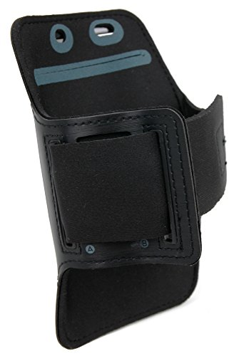 DURAGADGET-Exclusive-Unisex-Sports-Armband-in-Black-Running-Cycling-Gym-Smartphone-Case-for-The-NEW-Microsoft-Lumia-540-2015-Release-0-3