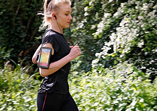 DURAGADGET-Exclusive-Unisex-Sports-Armband-in-Black-Running-Cycling-Gym-Smartphone-Case-for-The-NEW-Microsoft-Lumia-540-2015-Release-0-4