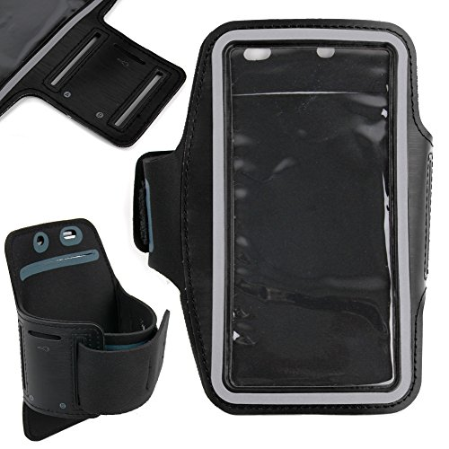 DURAGADGET-Exclusive-Unisex-Sports-Armband-in-Black-Running-Cycling-Gym-Smartphone-Case-for-The-NEW-Microsoft-Lumia-540-2015-Release-0-6