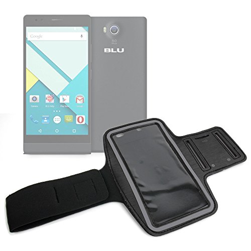 DURAGADGET-Exclusive-Unisex-Sports-Armband-in-Black-Running-Cycling-Gym-Smartphone-Case-for-The-NEW-Microsoft-Lumia-540-2015-Release-0
