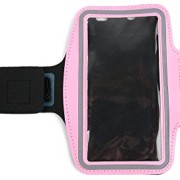 DURAGADGET-Exclusive-Unisex-Sports-Armband-in-Pink-Running-Cycling-Gym-Smartphone-Case-for-The-NEW-Microsoft-Lumia-540-2015-Release-0-0