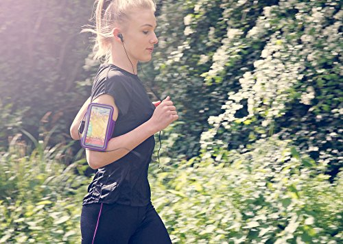 DURAGADGET-Exclusive-Unisex-Sports-Armband-in-Purple-Running-Cycling-Gym-Smartphone-Case-for-The-NEW-Microsoft-Lumia-540-2015-Release-0-4