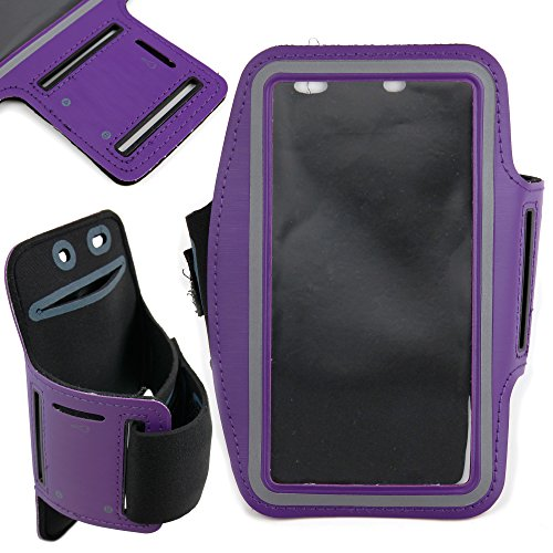 DURAGADGET-Exclusive-Unisex-Sports-Armband-in-Purple-Running-Cycling-Gym-Smartphone-Case-for-The-NEW-Microsoft-Lumia-540-2015-Release-0-6