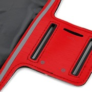 DURAGADGET-Exclusive-Unisex-Sports-Armband-in-Red-Running-Cycling-Gym-Smartphone-Case-for-The-NEW-Microsoft-Lumia-540-2015-Release-0-1