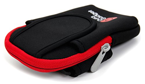 DURAGADGET-High-Quality-Exclusive-Black-Red-Neoprene-Sports-Armband-Case-Running-Cycling-Gym-Smartphone-Case-Holder-for-NEW-Microsoft-Lumia-532-435-0-1
