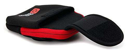 DURAGADGET-High-Quality-Exclusive-Black-Red-Neoprene-Sports-Armband-Case-Running-Cycling-Gym-Smartphone-Case-Holder-for-NEW-Microsoft-Lumia-532-435-0-2