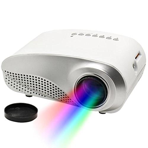 Flylinktech rd 802 24w led hd home mini projector w hdmi for Mini hd projector review