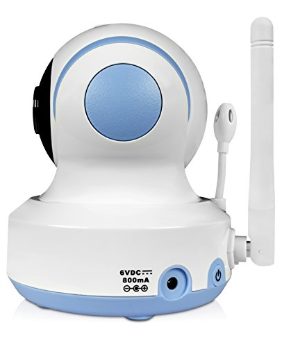 foscam fbm3502 digital video baby monitor auto motion tracking white blue erics electronics. Black Bedroom Furniture Sets. Home Design Ideas