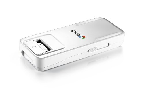 General-Imaging-PJ205-ipico-Handheld-LED-Personal-Projector-for-Apple-iPhoneiPod-Touch-Retail-Packaging-White-0